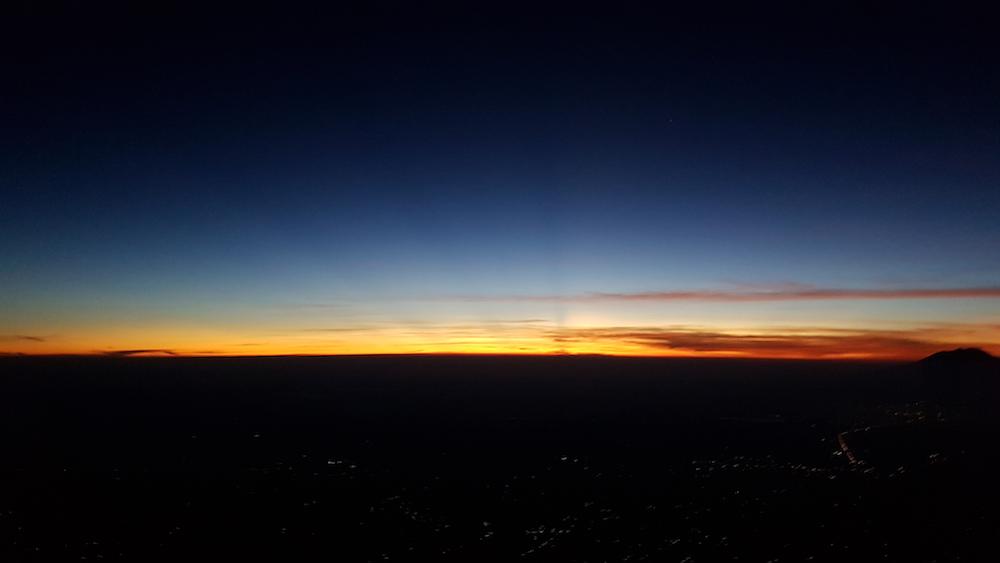 Mount merapi beklimmen zonsopgang