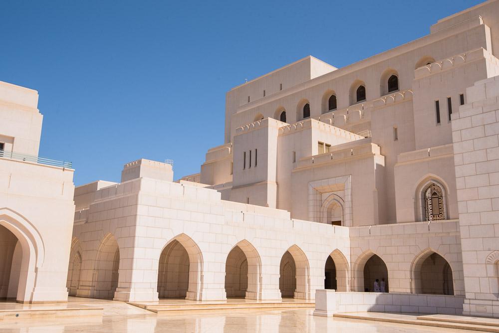 Muscat Oman Royal Opera House