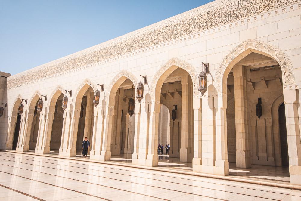 Muscat Oman Sultan Qaboos Moskee-2