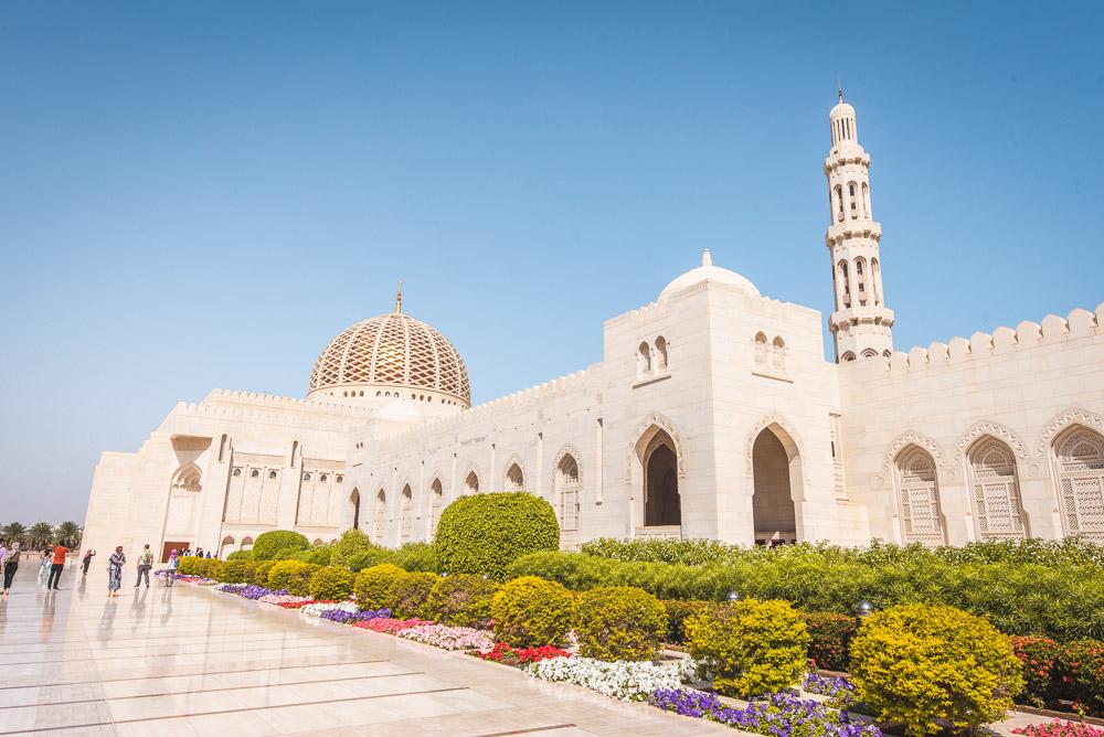 Muscat Oman Sultan Qaboos Moskee