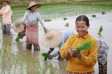 Myanmar reizen Inle Meer