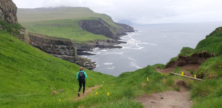 Mykines uitzicht Farooer Eilanden