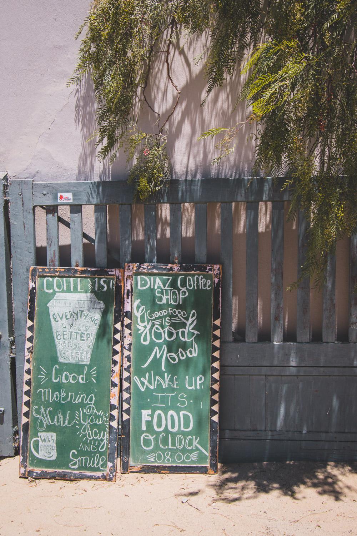Namibie Luderitz tips eten diaz coffee shop