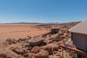 Namibie sonop de tenten