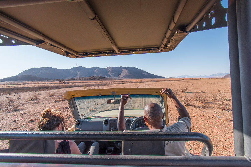 Namibie sonop game drive