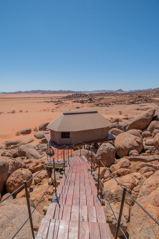 Namibie sonop onze tent-2