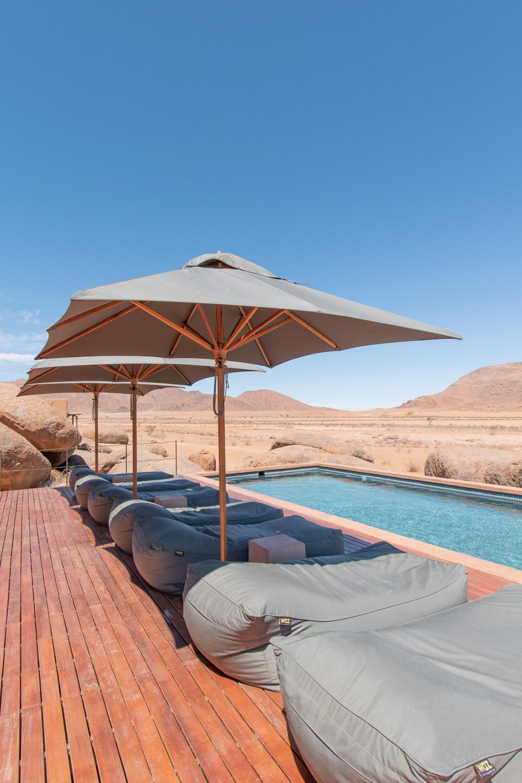Namibie sonop zwembad