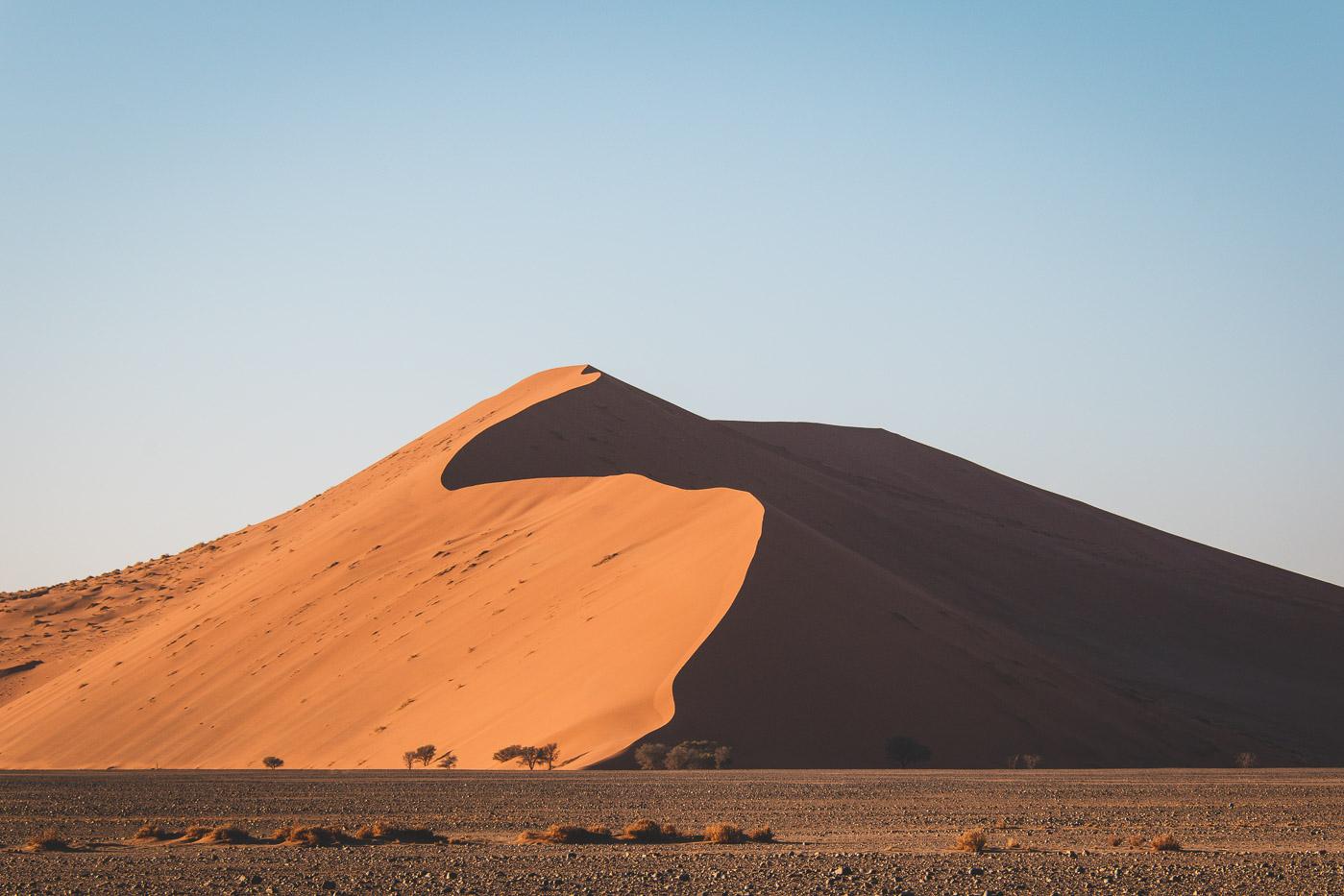 Namibie sossusvlei duinen