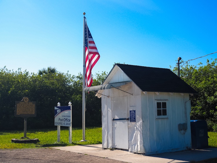 Naples Florida kleinste postkantoor