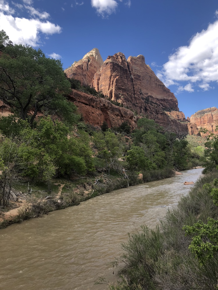 Nationale parken amerika zion
