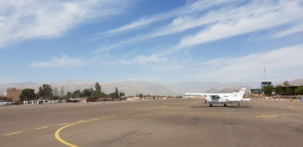 Nazca Lijnen bezoeken Peru vliegen