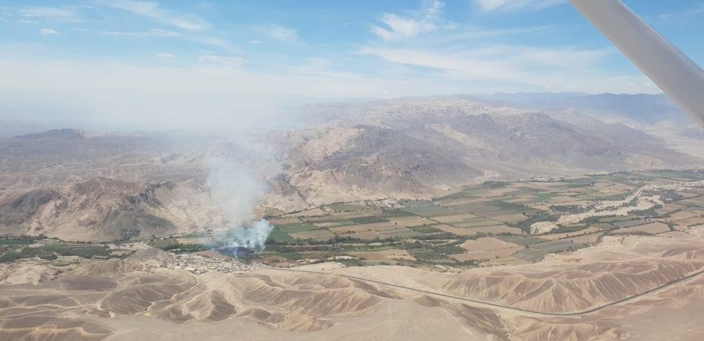 Nazca lijnen bezoeken peru landschap