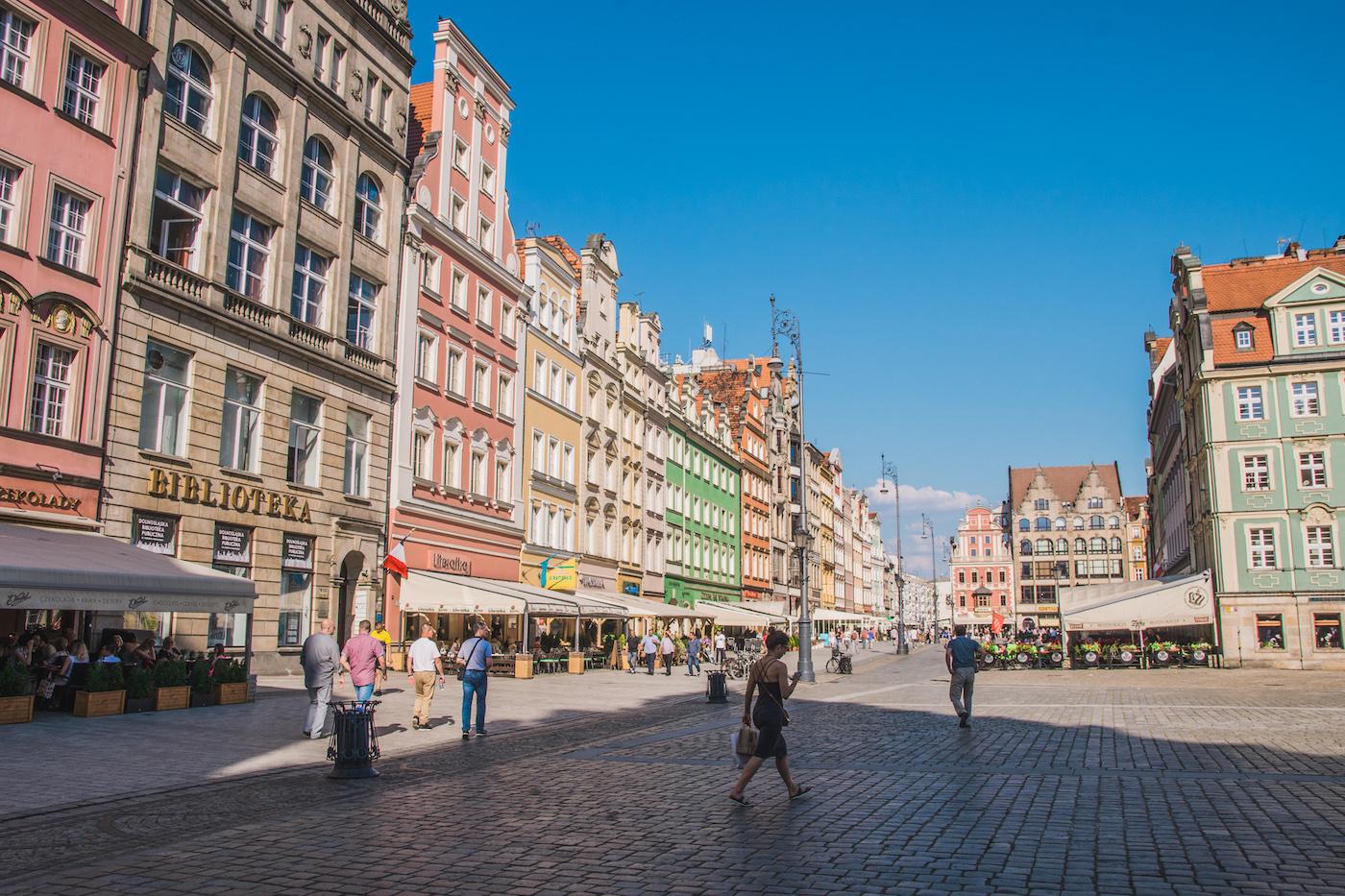 Neder-Silezië Wroclaw Polen