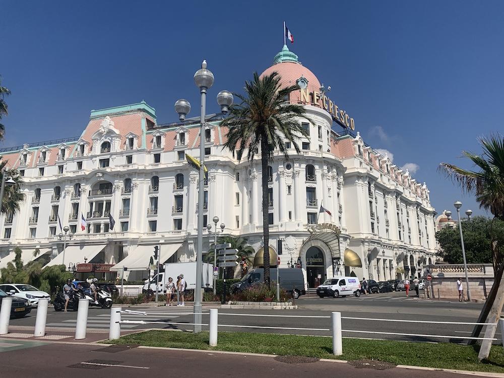 Negresco Hotel stedentrip nice