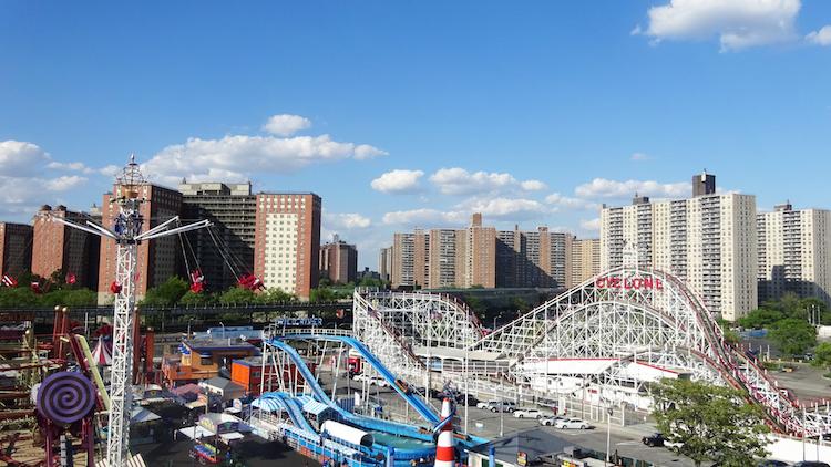 New York Overzicht van Coney Island