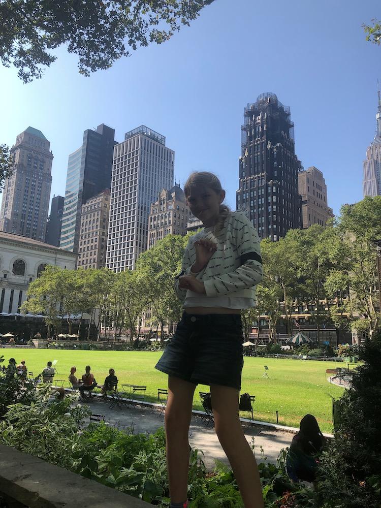 New york met kinderen Bryant Park tips