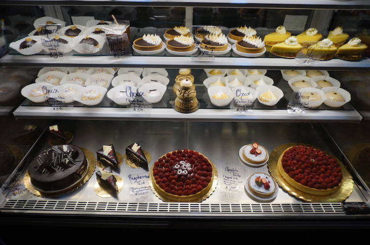 Niagara Falls New York rondreis een patisserie op Long Island