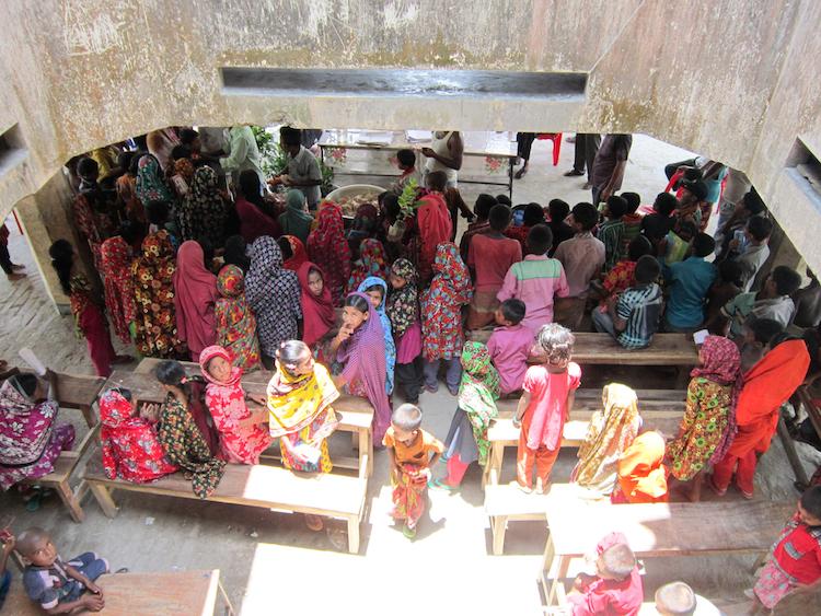 Nijum Dwip Bangladesh locals