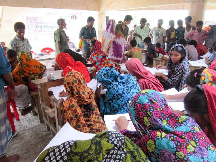 Nijum Dwip Bangladesh school