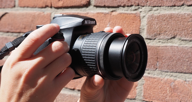Nikon d3400 spiegelreflex camera reizigers
