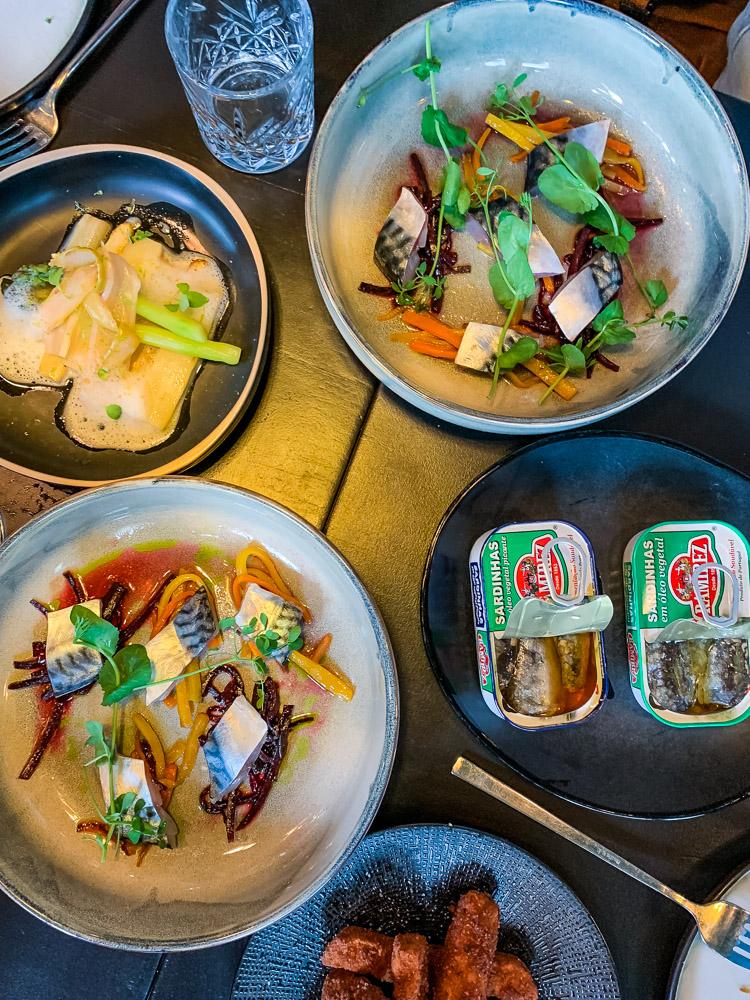 Nomads Amsterdam oost gerechten menu portugees