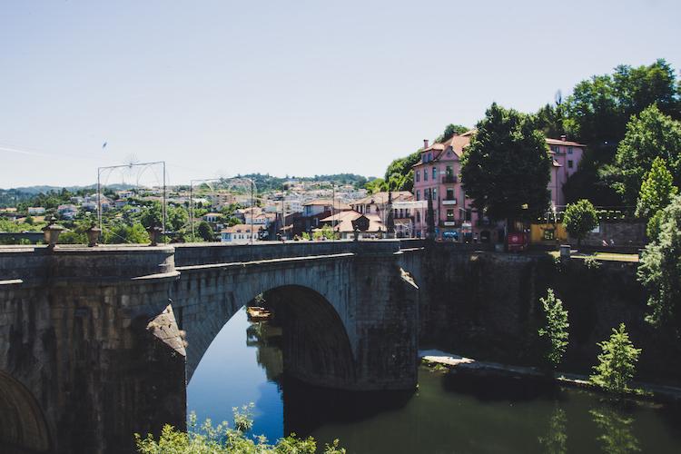 Noord portugal brug Amarante