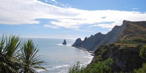 Noordereiland nieuw-zeeland bezienswaardigheden Cape Kidnappers