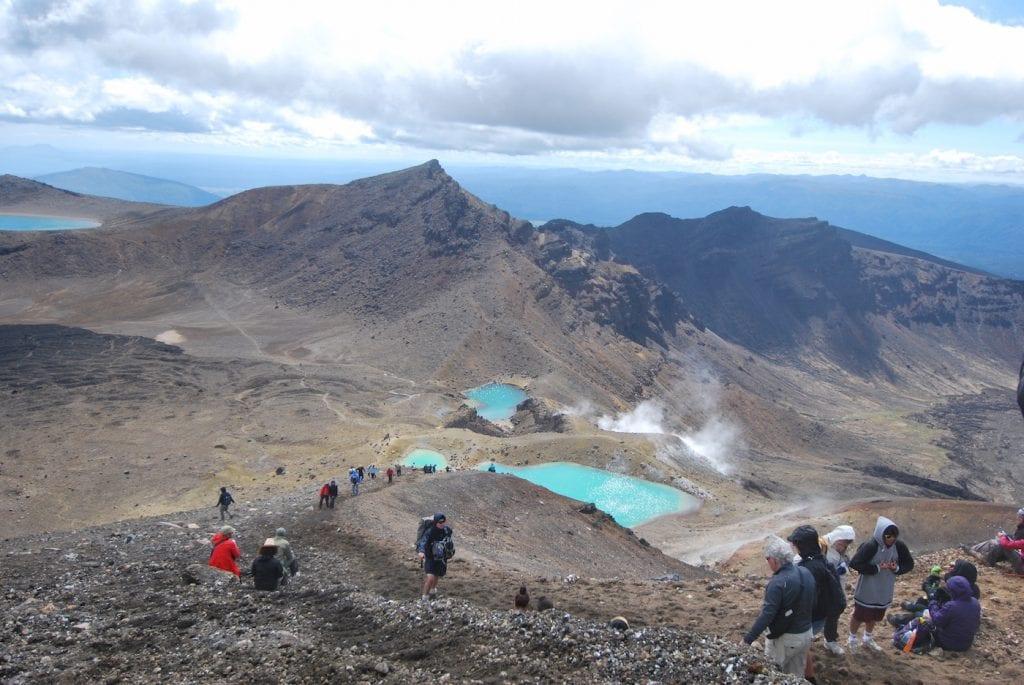 Noordereiland nieuw-zeeland bezienswaardigheden Tongariro National Park