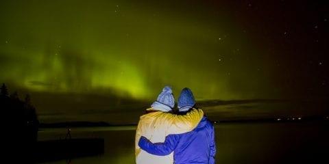 Noorderlicht Finland fotograferen