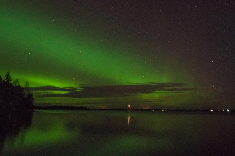 Noorderlicht Fotograferen Finland
