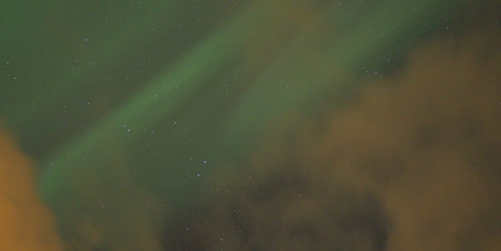 Noorderlicht Noorwegen wanneer