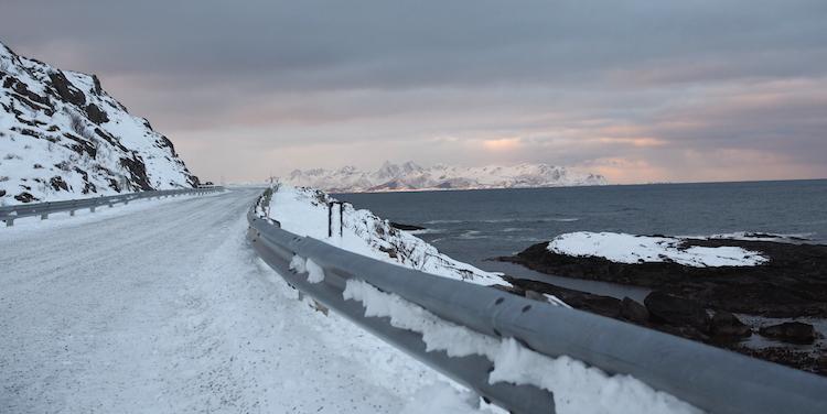 Noorwegen weg