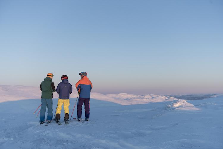 Norefjell noorwegen wintersport top berg