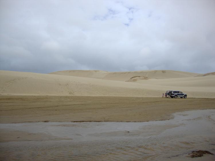 Northland Nieuw-zeeland Te Paki Giant Sand Dunes