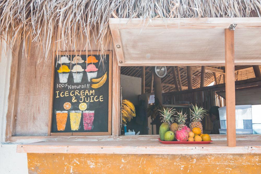 Nusa Lembongan tips restaurants