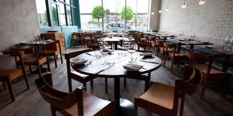OX restaurant in Belfast