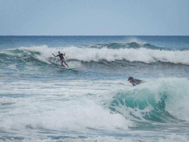 Oahu Hawaii surfers north shore