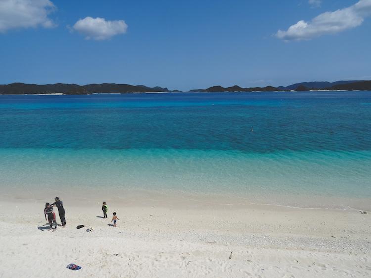 Okinawa-Japan-strand-aka