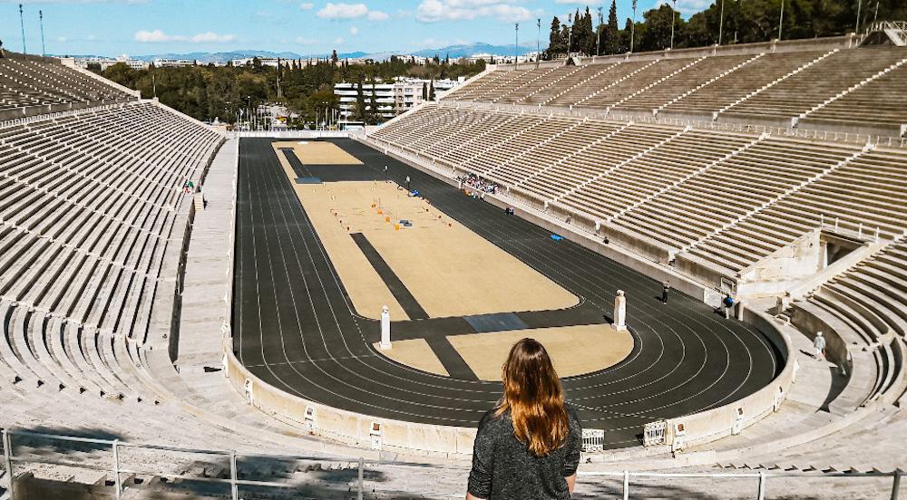 Olympisch stadion stedentrip Athene
