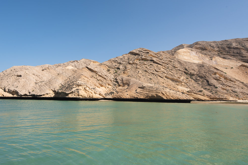 Oman Muscat Hills strand