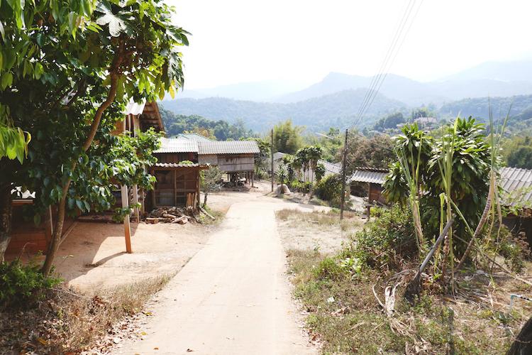 Omgeving Chiang Mai Pha mon