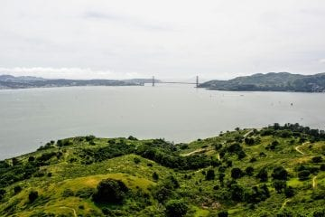 Omgeving San Francisco Angel Island - Golden Gate Bridge