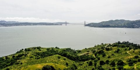 Omgeving San Francisco Angel Island - Golden Gate Bridge