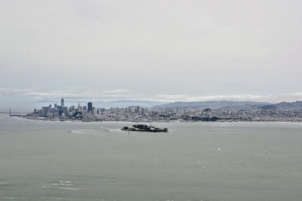 Omgeving San Francisco Angel Island Uitzicht San Francisco