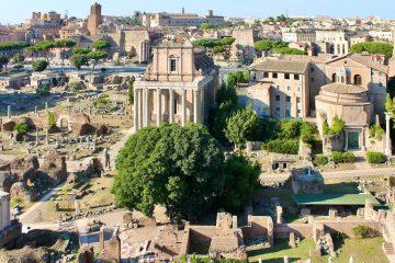Onbekende plekken rome
