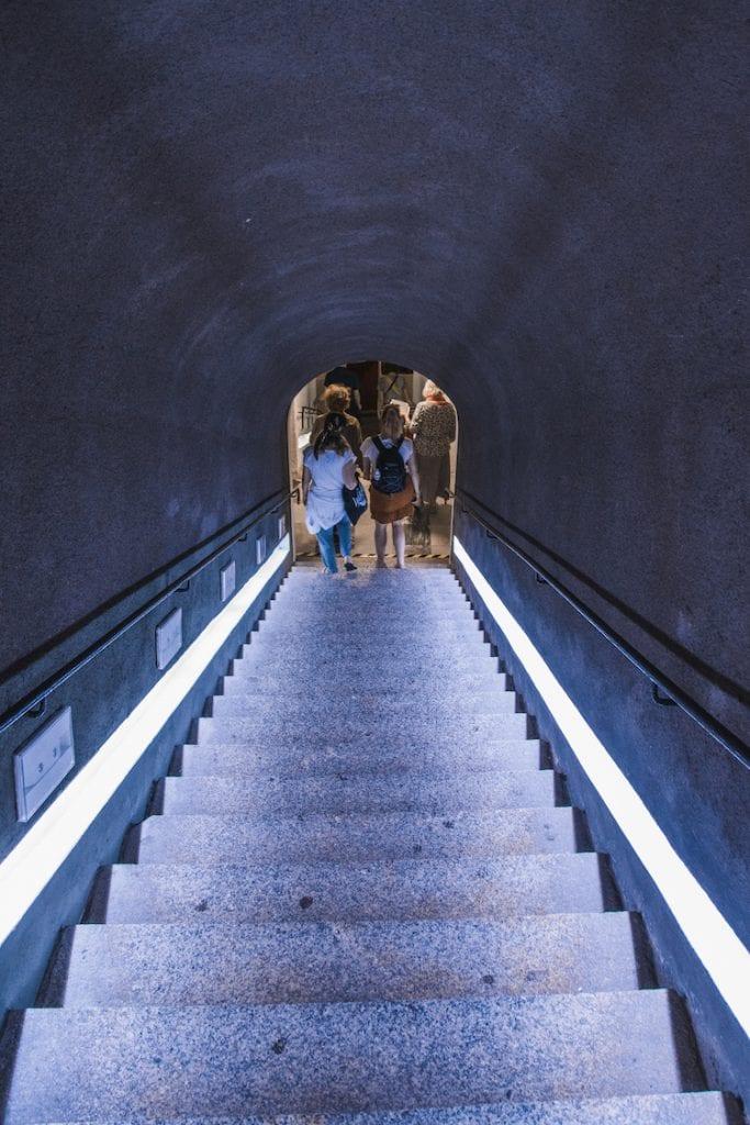 Ondergrondse gang ksiaz polen