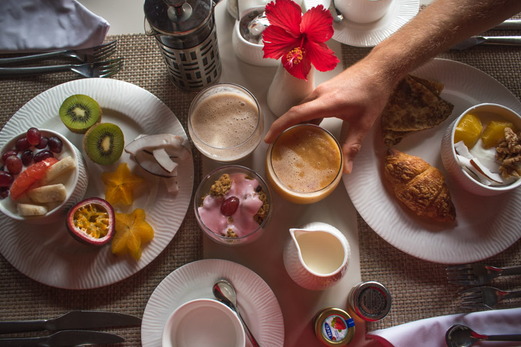 Ontbijt Paradise Sun Praslin