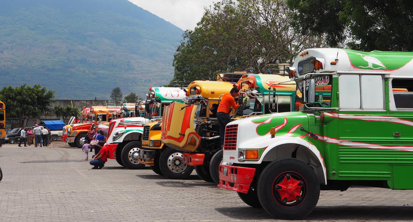Op rondreis in Guatemala