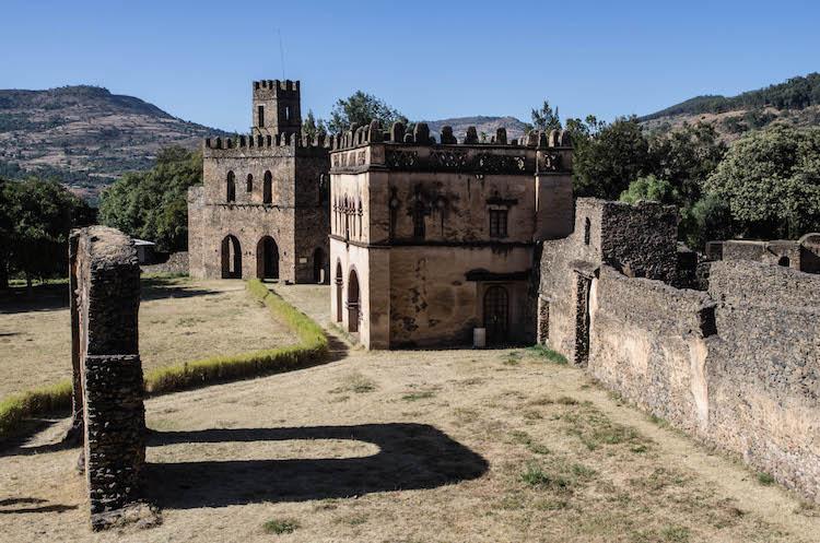 Op reis naar Ethiopie reizen gondar