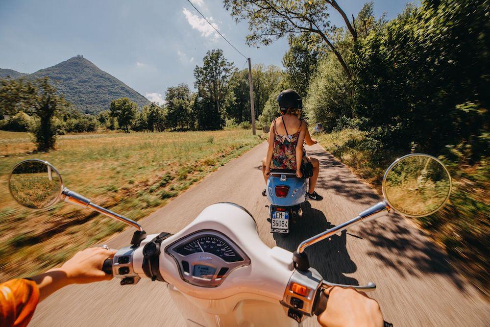 Op vakantie naar italie the vespa trip